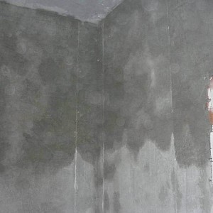 Бетон для выравнивания стен