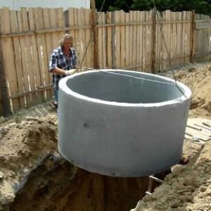 Септики из бетона